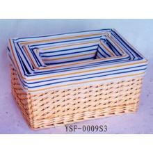 (BC-ST1029) Qualitäts-handgemachter Weide-Speicher-Korb