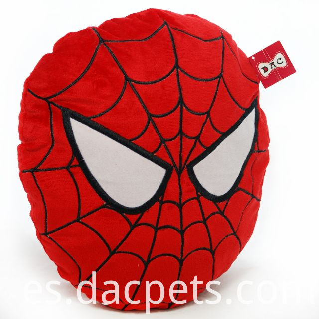 spiderman round cushion