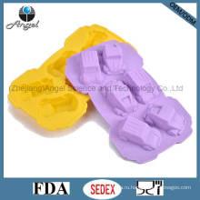 Пищевой сорт силиконового торта для выпекания печенья Car Scie Tool Sc25