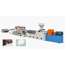 Línea de extrusión de placa PC / PS / HIPS / ABS / PP / PE (hoja)