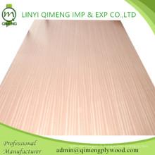 Beau contreplaqué décoratif de Sapele de grain et de couleur de Linyi