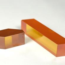 Fresnel Rhomb Prism (BK7 or Fused Silica)