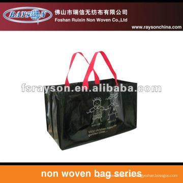 nuevo diseño reutilizable tnt bolsas de compras