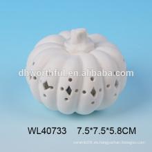 Venta al por mayor de cerámica de la calabaza de la nueva decoración de halloween con led
