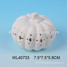 New halloween decoration ceramic pumpkin wholesale with led