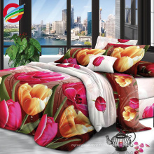 Professional 100% polyester printed fabric low price wholesale