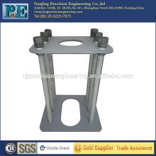 Cnc mecanizado q235 marcos de fabricación