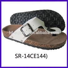 Neue Ankunft-Damen confortable Schlag-Hefterzufuhr handgemachte Schuh-echtes Leder beschuht Frauen
