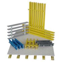 Пултрузионный Стеклопластик решетки и Пултрузионный стеклопластиковые решетки