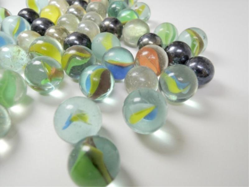 Playing Glass Marbles
