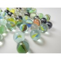 Decorated wholesale glass marbles