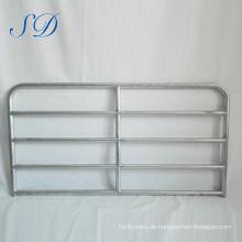 Hohe Qualität 5 Bar Steel Cattle Panel Tor