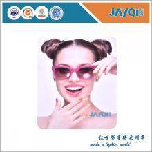 Tamaño personalizado anteojos gamuza paño de limpieza