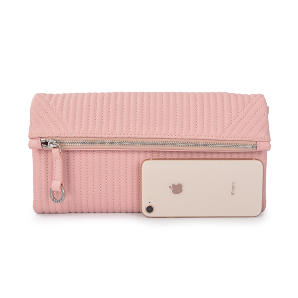 Women's Envelope Clutch Pink Medium