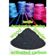 carbón activado para tinte