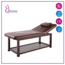Wooden Spa Salon Furniture Thai Massage Bed