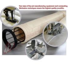 Coletor de poeira industrial filtro saco gaiola