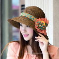 New Fashion Casual Spring And Summer Sunsreen Women High-end Beach Straw Hat