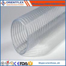 Flexibler anti-UV Anti-Chemischer PVC-Stahldraht-Schlauch