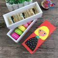 милые красочные еды сорта печенье коробка ящика упаковывая