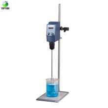 Agitador eléctrico en el laboratorio