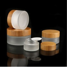 Eco-Friendly Empty Bamboo Bottle Cosmetic Packaging