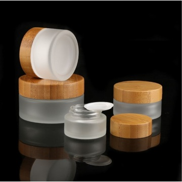 Umweltfreundliche leere Bambusflaschen-Kosmetikverpackung
