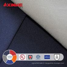 tissu ignifuge en nylon de coton de 5.5oz pour des vêtements