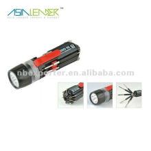 8 in einer runden Schraube Philips Slotted Screwdriver LED Taschenlampen Tools Set