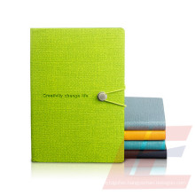 China Manufacturer Products All Kinds of Paper Notebook, Hot Sale Leather Notebook with Pen