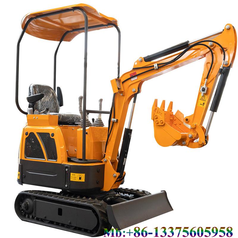 New 1.2 ton small digger