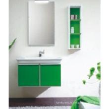 Cabinet de salle de bains en PVC à chaud avec miroir