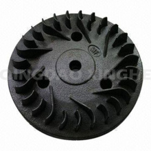 Customized Lost Wax Casting Turbo Impeller with Black Painting