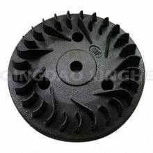 Подгонянная потерянная отливка воска Турбо крыльчатка с черной картиной