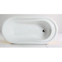 Freistehende Badewanne mit Pure Acryl