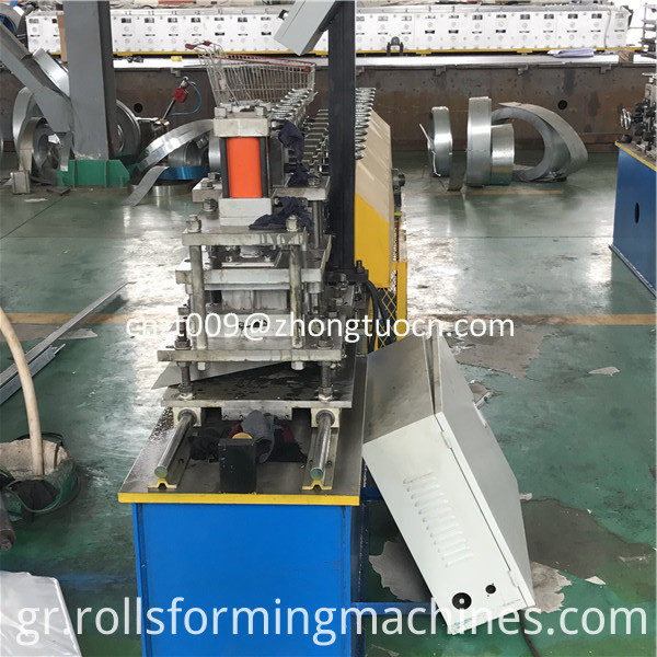 steel shutter door roll forming machine 08