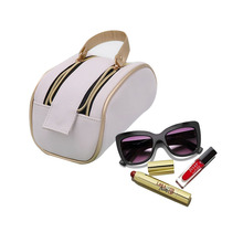 Double Zipper Waterproof Travel Cosmetic Storage Bag