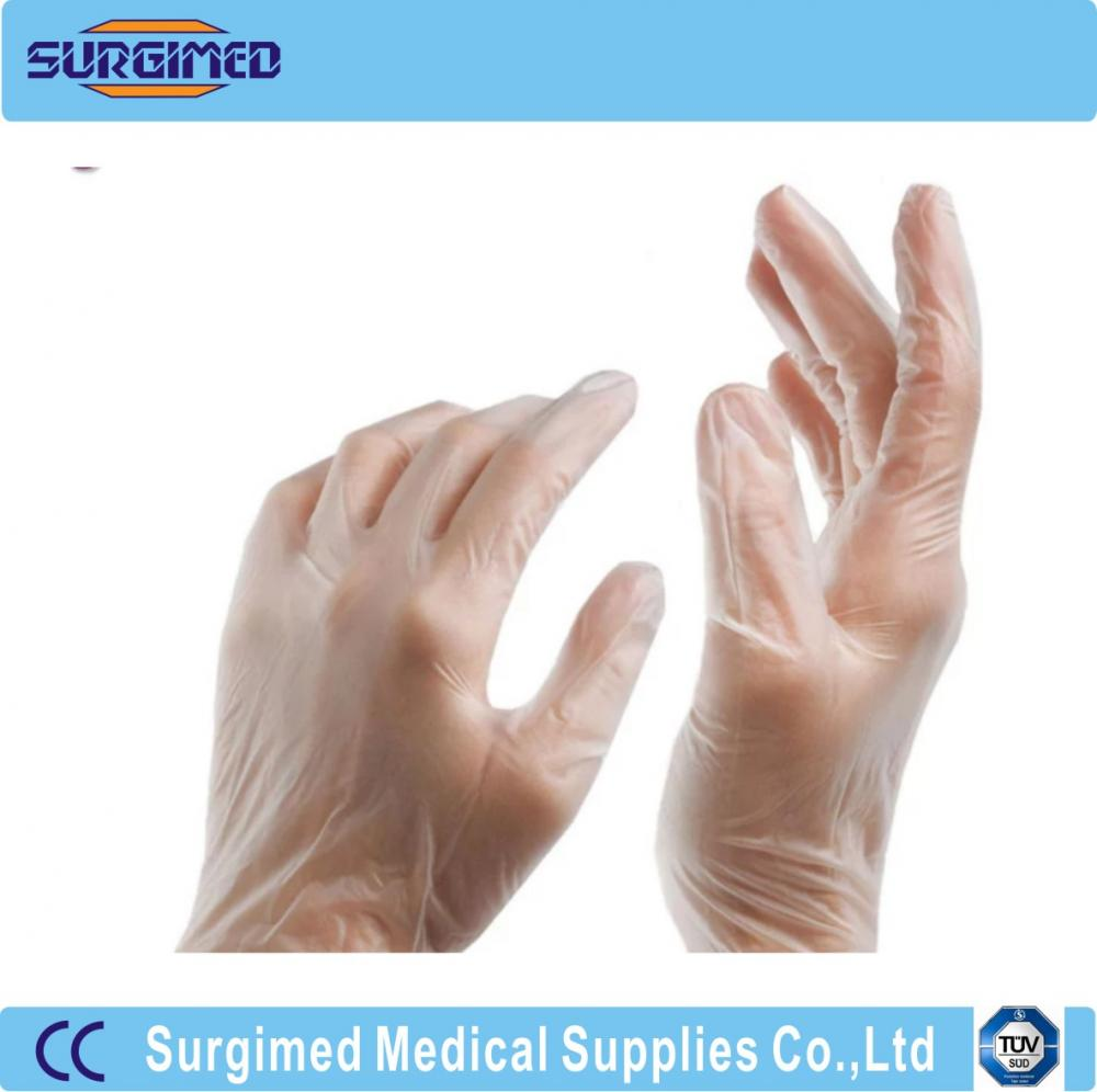 Medical Examination Vinyl Glove Disposable Single Use