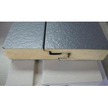 Feuille en acier galvanisé en relief pour panneau isolant