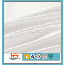 Branco 50% algodão 50% poliéster Tecido para lençóis
