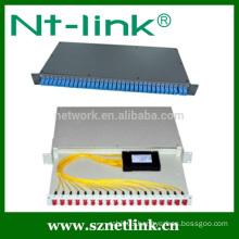 Hot selling 1x32 plc splitter module rack mount