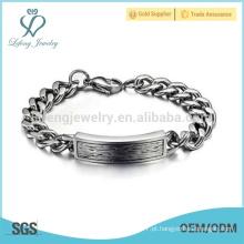Pulseira de moda longa cadeia, pulseira magnética de titânio impermeável