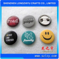 Kundenspezifischer Logo-Preis Gedruckter Tinplate-Abzeichen Button Pin