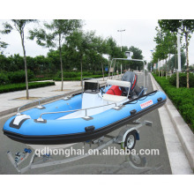 RIB470 barco inflable rígido piso barco de china RIB470 con ce