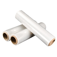 Clear Pallet Pack 20 micron LDPE Stretch Film for Packaging LLDPE Plastic Wrapping Film