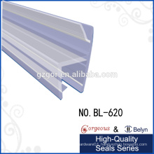 water excluder door side glass seal strip