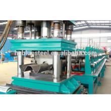 Fabrication de machines à former des rouleaux de barrage de rail de garde ferroviaire, Machine de fabrication de barrière de haute qualité