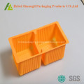 food grade 2 compartments snack biscuits boxes