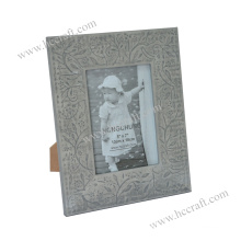 Classic Gesso Wooden Photo Frame for Home Deco
