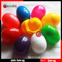 Solid Color Plastic Easter Eggs
